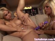 Tasha Reign & Sarah Lesbian Slumber Party!