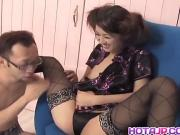 Ami Matsuda with hot bum has hairy cunt