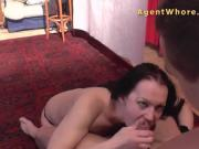 Young guy get sucked and fucked by kinky MILF