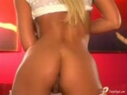Tanya James stripping 1