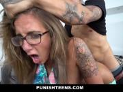 Brutal Fucking For Big Tittied GF