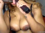Muscular booty ebony Bianca Moore