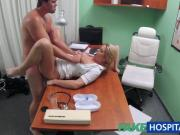 FakeHospital Nurse helps stud get erection