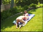 Redhead humped outdoor