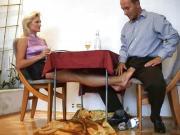 Under the Table feet