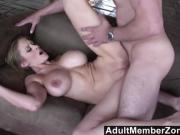 Abbey Lane 's big bouncing boobs will get you