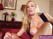 Mature Rebecca give Mia some sex lessons