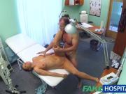 FakeHospital Pretty redhead prescribed cock