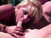 Blond steppe fuck