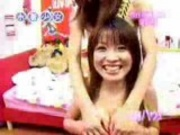 Three japanese Girls having Fun