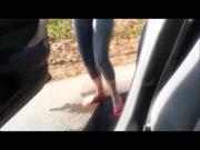 Car Jeans Pee