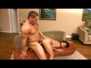 Hunk fucking asian whore