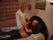 Shemale masseuse - That's a service!