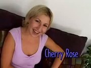 Cherry Rose is an old slut with hardended anus