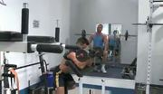 Two Hunks Enjoying Some One On One Gay Fun In The Gym