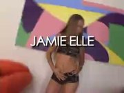 Jamie Elle gets roughly DPed in a steamy threesome