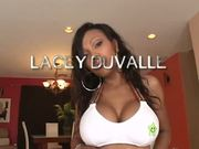 Lacey Duvalle Puts Legs Wide To Take Fat Meat In