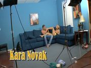 Kara Novak Is A Joyful Footjob & Blowjob Expert