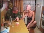 Russian Milf's Cunt Is Banged By An Ex Serviceman