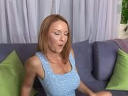 Nasty Redhead MILF Gets Her Gaping Pussy Pumped