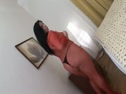 Cute Bbw In Red Nylon Outfits Has Wildest Fucking