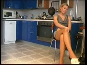 Sexy Russian MILF Goes Wild In The Kitchen