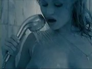 Elena Nikulina stimulates pussy in steamy jacuzzi