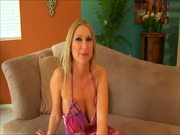 Blondie Does Not Give Her Pink Wet Slit Any Rest