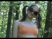 Hot Amateru Blonde Pissing In The Woods