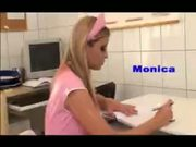 Amazing action with horny Monica Sweetheart