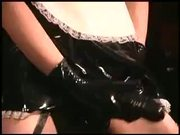 Vertical Kissers In Latex Are Playing Hot & Heavy