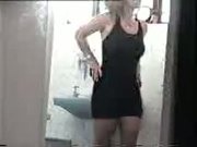 Milf Changing Swimsuit In Bathroom Is Spied On