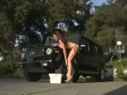 Adrena Lynn gives a great car-wash and fucks like crazy