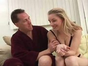 Pretty chick Kayla Crawford becomes short of breath on getting cunt fucked hard