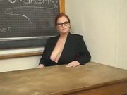 Fat Lesbian Teacher Enjoys Oral Sex Of Her Student