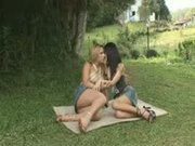 Sexual Picnic With A Shemale In A Dense Forest
