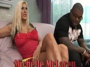 One Black Dong For Blond Whore Michelle McLaren