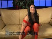 Jenaveve Jolie Is A Slut In Red Able For Blowjob