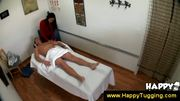Naughty asian masseuse works on a guy at 5ilthy