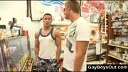 Public gay blowjob in grocery store at 5ilthy