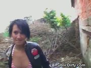 European Brunette Sucks Dick And Fucked In Public Park at 5ilthy