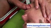 Deep relaxing cock massage by the masseur at 5ilthy