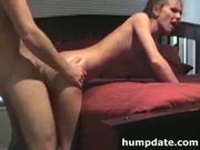 Slim girlfriend with tiny tits gets fucked and jizzed on at 5ilthy