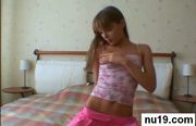 Alluring teenie getting gaped hard at 5ilthy