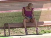 Kylie Nude Play at Bus Stop at 5ilthy