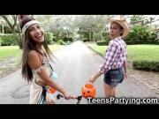 Teenage Besties Looking For a Big Candy!