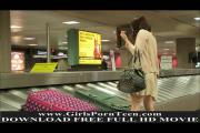 Cassie gorgeous young brunette goes shopping