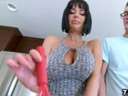 Veronica Avluvs pussy loves riding huge cock