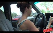 Girlfriend Gets Fondled In The Car