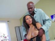 Pornstar model gets her anal plowed with meaty dick